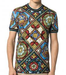 Multi Color Wallflower Logo T-Shirt