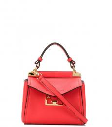 Givenchy Red Mystic Mini Satchel