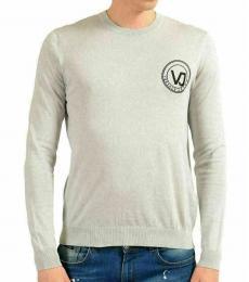 Grey Crewneck Light Sweater