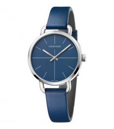 Blue Even Watch