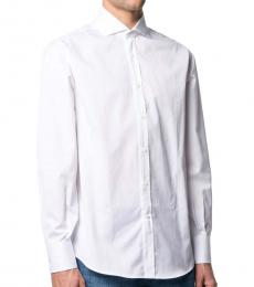White Classica Button-Up Shirt