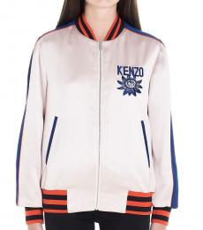 Kenzo Multi color Logo Souvenir Print Jacket