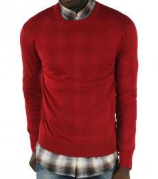 Dsquared2 Red Crew-Neck Sweater