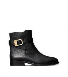 Tory Burch Black Brooke Ankle Boots