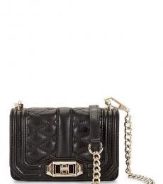 Black Love Mini Shoulder Bag