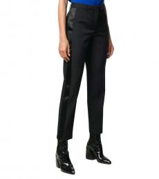 Givenchy Black Wool Tuxedo Trousers