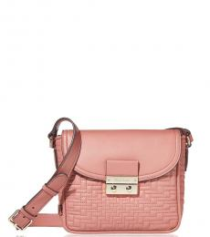 Cole Haan Withered Rose Lock Quilted Small Crossbody