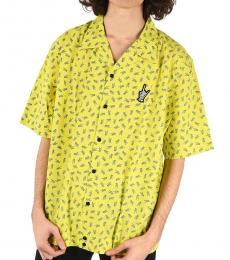 Diesel Yellow Allover Print Friday Shirt