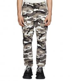 Camo Print Camouflage-Print Pants