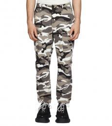 Balenciaga Camo Print Camouflage-Print Pants