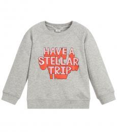 Stella McCartney Little Girls Grey Sweatshirt