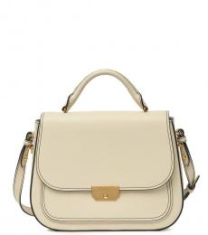Marshmallow Rider Top Handle Small Satchel