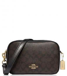 Coach Dark Brown Jes Medium Crossbody