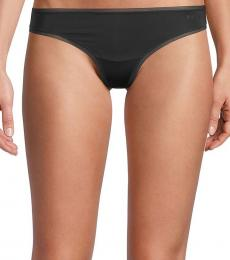 DKNY Black Litewear Thong 3-Pack