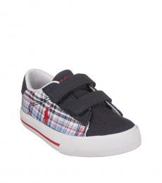Ralph Lauren Baby Boys White Multi Easton Sneakers