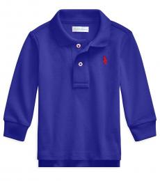 Ralph Lauren Baby Boys Rugby Royal Long-Sleeve Polo