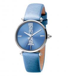 Just Cavalli Blue Armonia Classic Watch