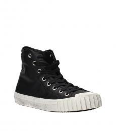 Philippe Model Black Gare High Top Sneakers