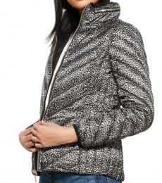 Camel Zip Collar Packable Down Jacket