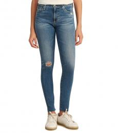 AG Adriano Goldschmied 14 Years Farrah High-Rise Skinny Jeans