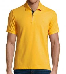 Burberry Gorse Yellow Classic Fit Polo