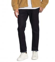 Black Geno Relaxed Slim Fit Jeans