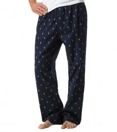 Ralph Lauren Navy Cotton Lounge Pants