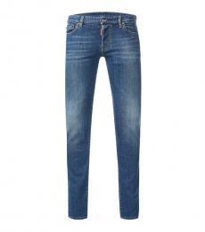 Dsquared2 Blue Slim Fit Jeans