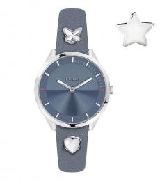 Furla Blue Logo Watch