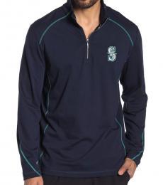 Tommy Bahama Navy Blue-Home Run Half-Zip Sweatshirt
