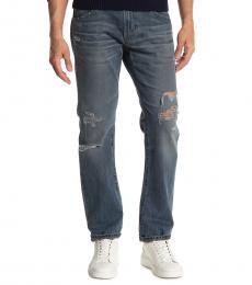 AG Adriano Goldschmied Dark Blue Matchbox Slim Jeans