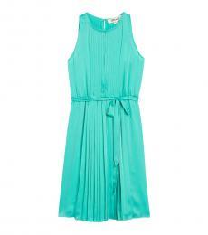 Diane Von Furstenberg Crest Ria Sleeveless Pleated Dress
