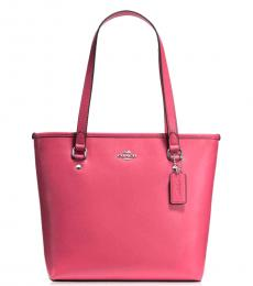 Coach Pink Classic Large Tote