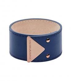 Blue Abstract Bracelet