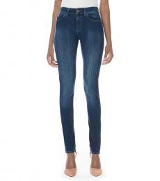 Armani Jeans Dark Blue Slim Fit Classic Jeans