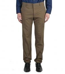 Dark Brown Casual Pants