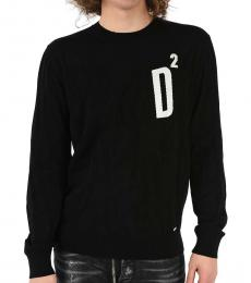 Dsquared2 Black Round Necked Sweater
