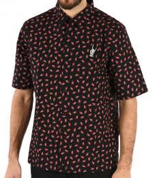 Diesel Black Allover Print Friday Shirt