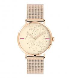Furla Rose Gold Giada Watch