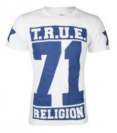 True Religion White True Stars T-Shirt