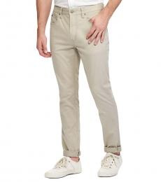 Ralph Lauren Surplus Khaki Slim Straight Varick Jeans