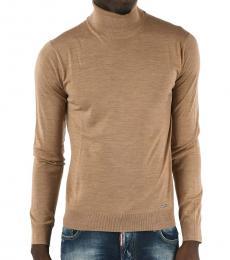 Dsquared2 Beige Turtleneck Sweater