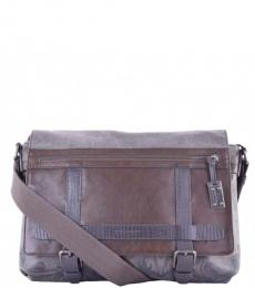 Dolce & Gabbana Brown Camouflage Large Crossbody