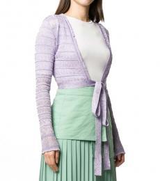 Missoni Violet  Cropped Lace Top