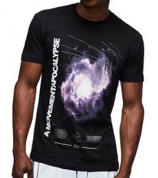 Black Graphic Apocalypse T-Shirt