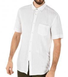 Diesel White Linen Emiko Shirt