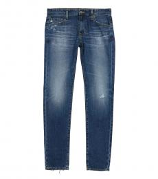AG Adriano Goldschmied Dark Blue Dylan Slim Skinny Jeans