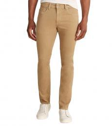 Diesel Beige Thommer Slim Skinny Jeans
