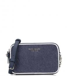 Kate Spade Denim Cameron Colorblock Small Crossbody