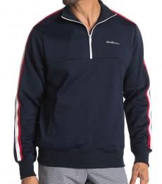 Ben Sherman Navy Blue Quarter Zip Track Jacket